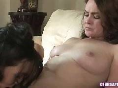 ClubSapphic - College Brunettes Sinn Sage and Veronica Snow