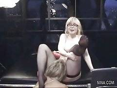 Nina - Nina Hartley Vicky Vette