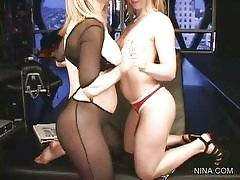 Nina - Justine Joli Nina Hartley