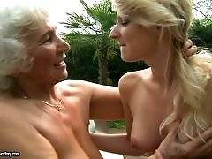 old young lesbian love - Norma, Candy Lover