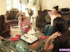 ClubSapphic - Surprise College Birthday Party