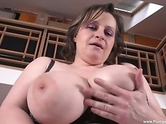 Traci is always hungry for cock and when you watch her masturbate, you can see just how far she will go for that orgasm! Watch as she gets herself off